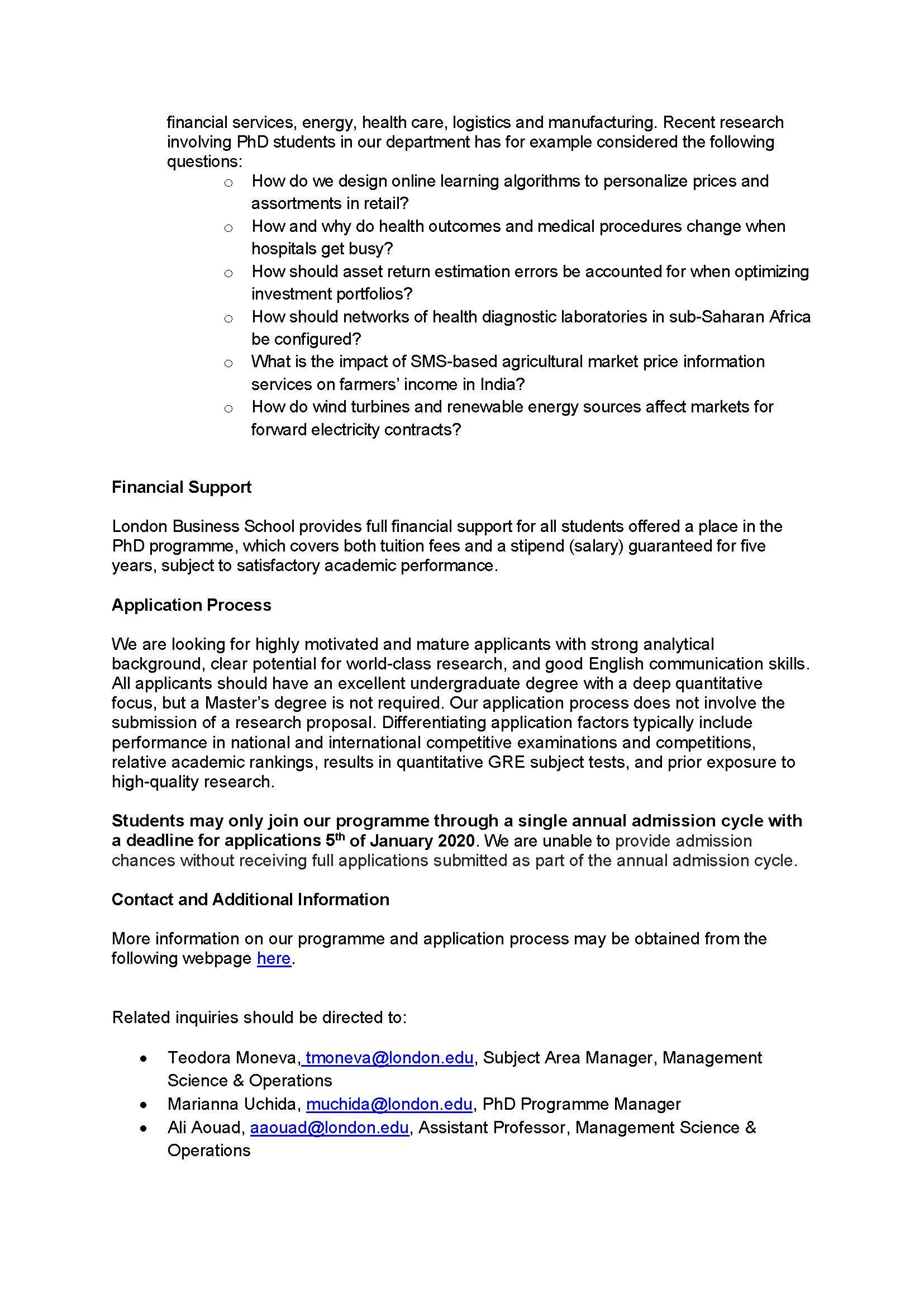 London business school phd thesis