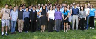 2010 Applied Math REU Group