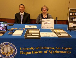 Captain Dominic Choi, LAPD Pacific Division and Professor Andrea Bertozzi