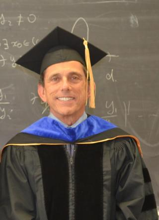 Demetri Brizolis67', MA 69', Ph.D 73' - Math Department Commencement Ceremony