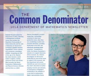 2015 Department Newsletter