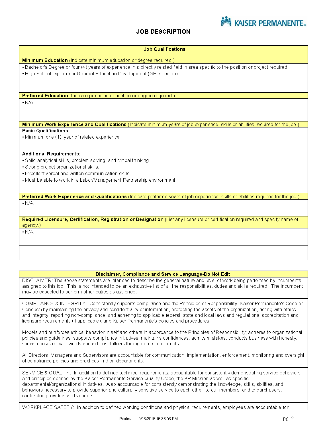 online disclaimer statements