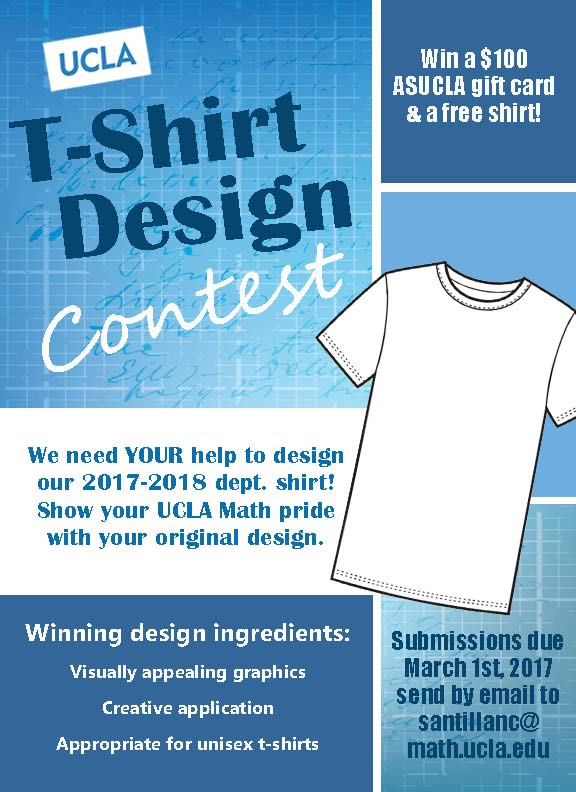 the ucla math t shirt design contest is back ucla