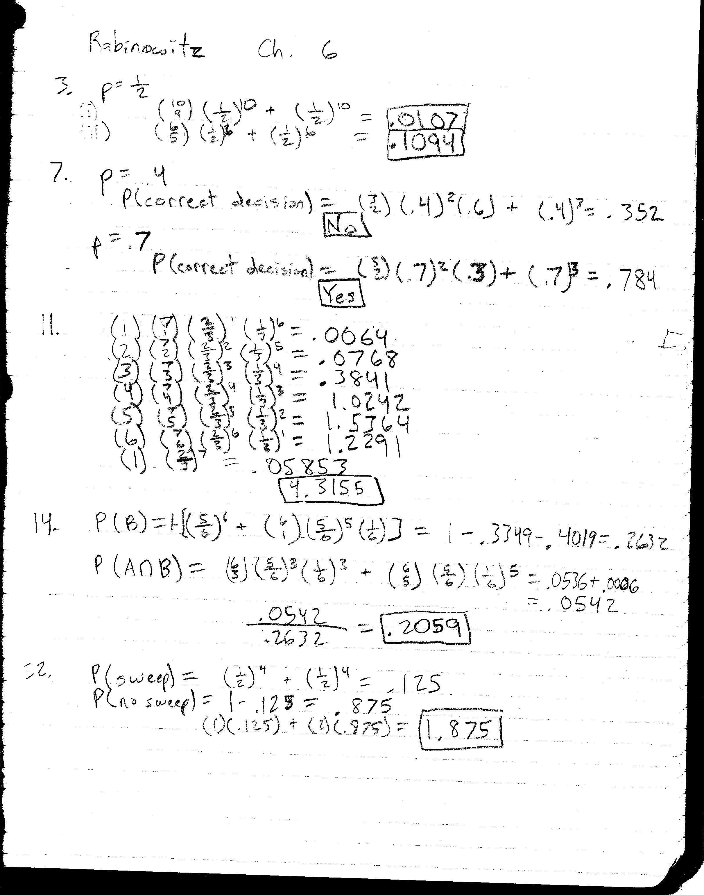 HA4 is available here. Answers and brief solutions are handwritten and  scanned: ...