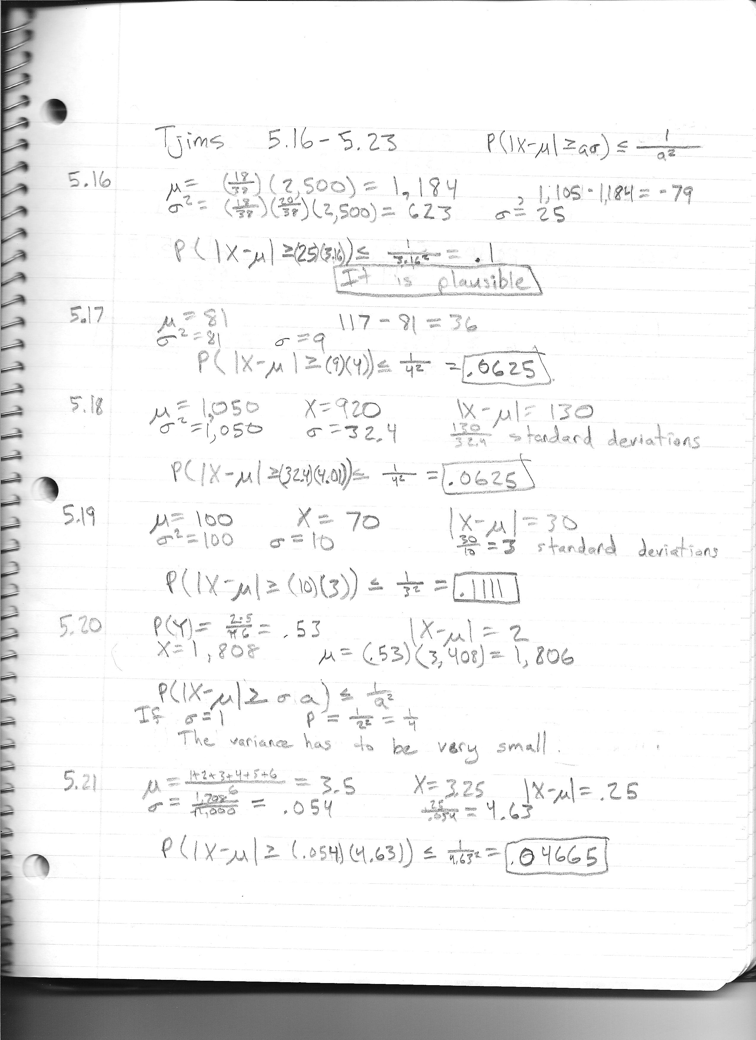 Answers and brief solutions are handwritten and scanned: p1, p2.