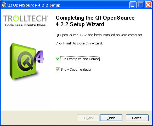 QT Installation Instructions